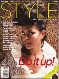 Style Magazine Cover