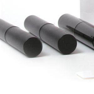 Black Lip Balm Tubes