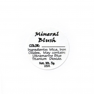 Blush Ingredient Label