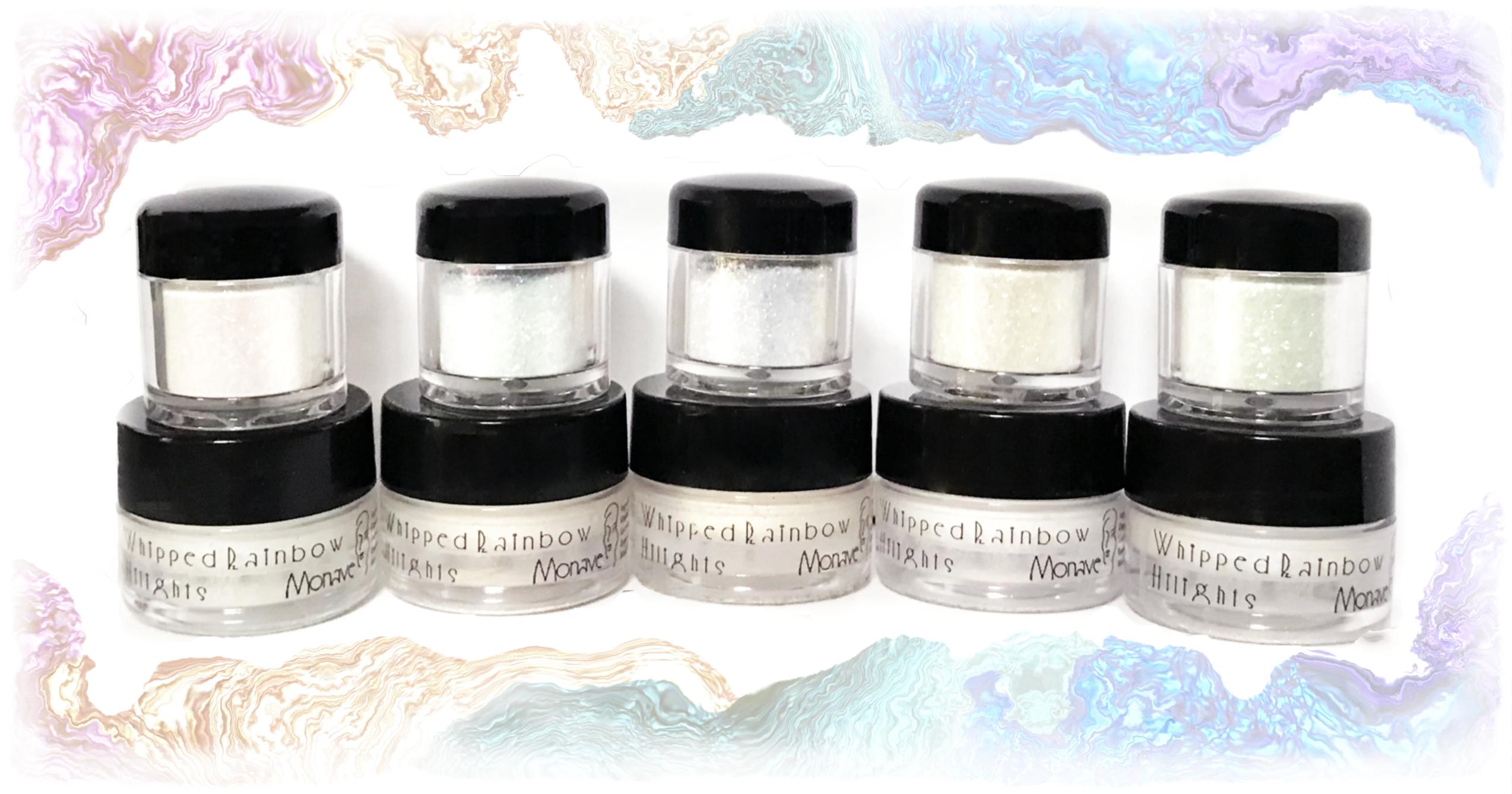 Mousse Rainbow Goddess Hilight & Sparkle Powder Duo Sets